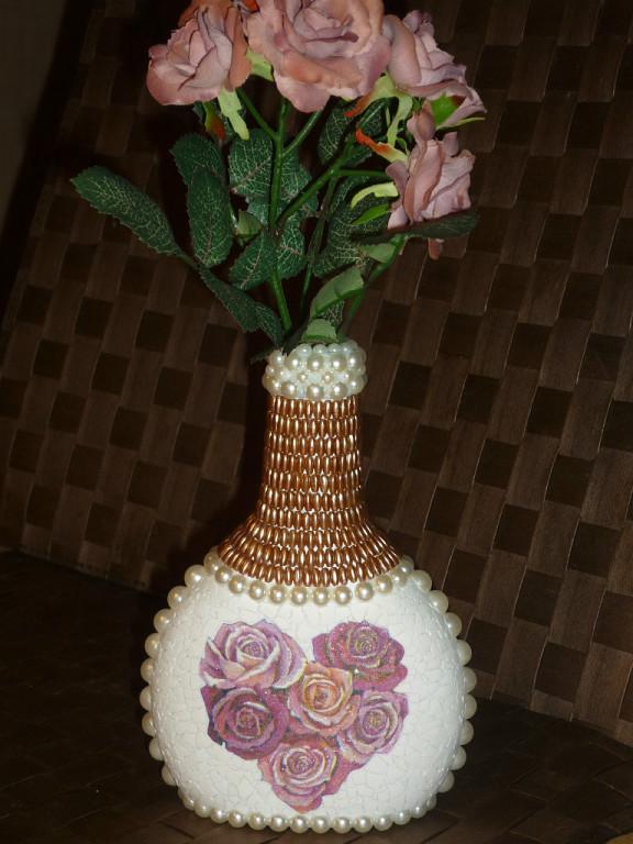 вазы из яичной скорлупы с
