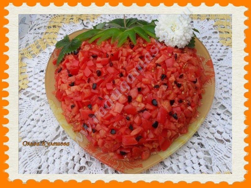 Салат клубника с курицей рецепт