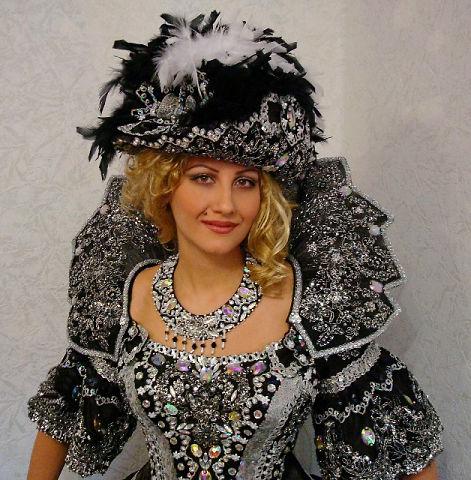 Воротник для карнавального костюма (мастер-класс)