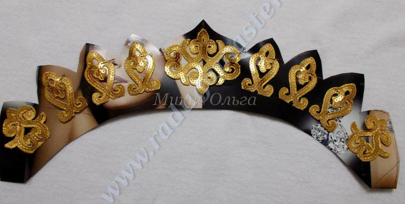 Шаблон короны принцессы своими руками фото 293
