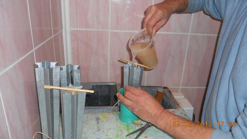 Свеча своими руками с фото пошаговое