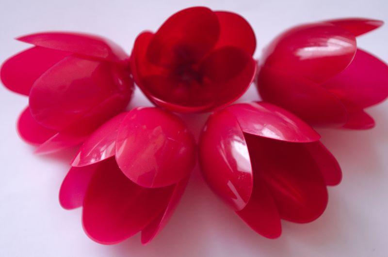 Цветы своими руками из одноразовых тарелок