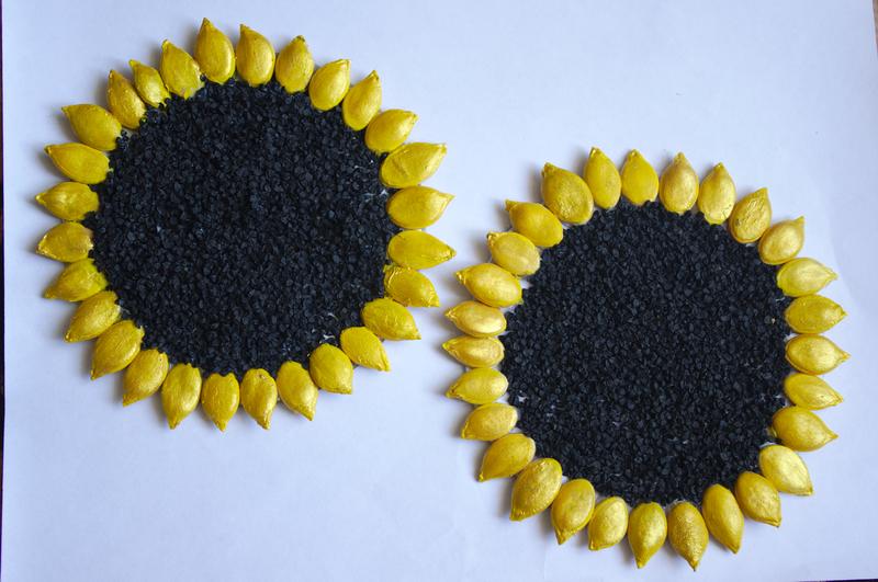 Поделки из семян на фото