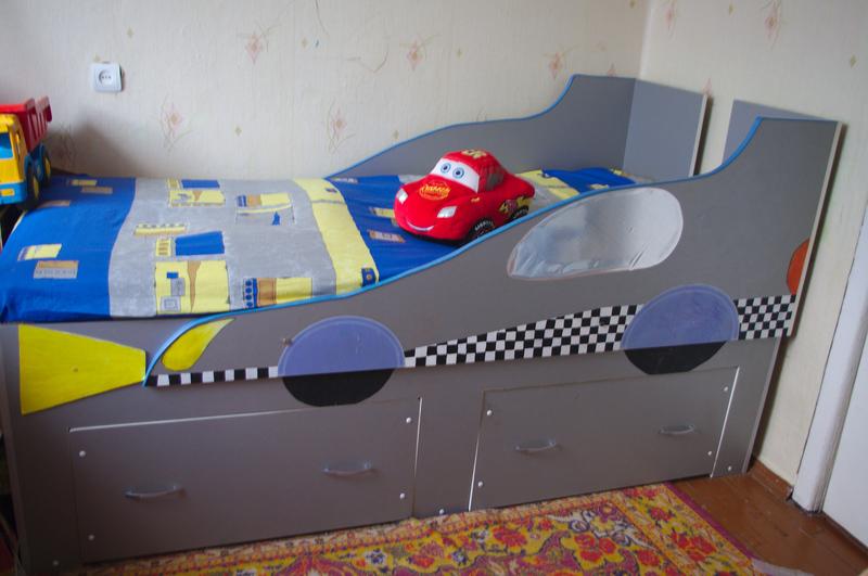 кровать машина своими руками,мебель детская своими руками,детская кровать в виде машины,мастер класс,пошаговое фото,мебель своими руками